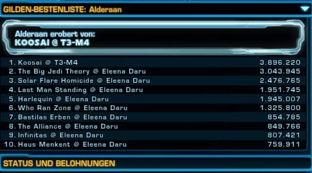 Eroberung Alderaan