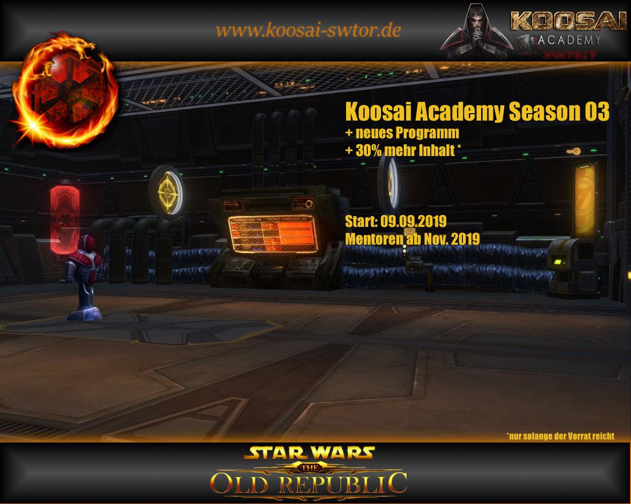 Koosai Academy Season 03